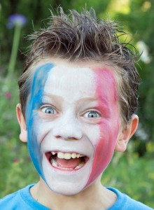 maquillage supporter enfant